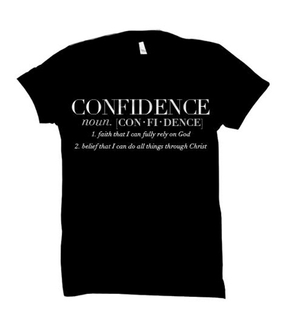 Confidence with definition (Black)